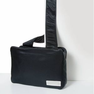 Eastpak X Courreges navy fabric tote/ shoulder bag